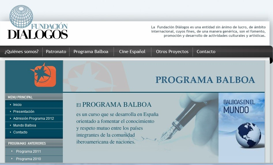 ProgramaBalboaWP